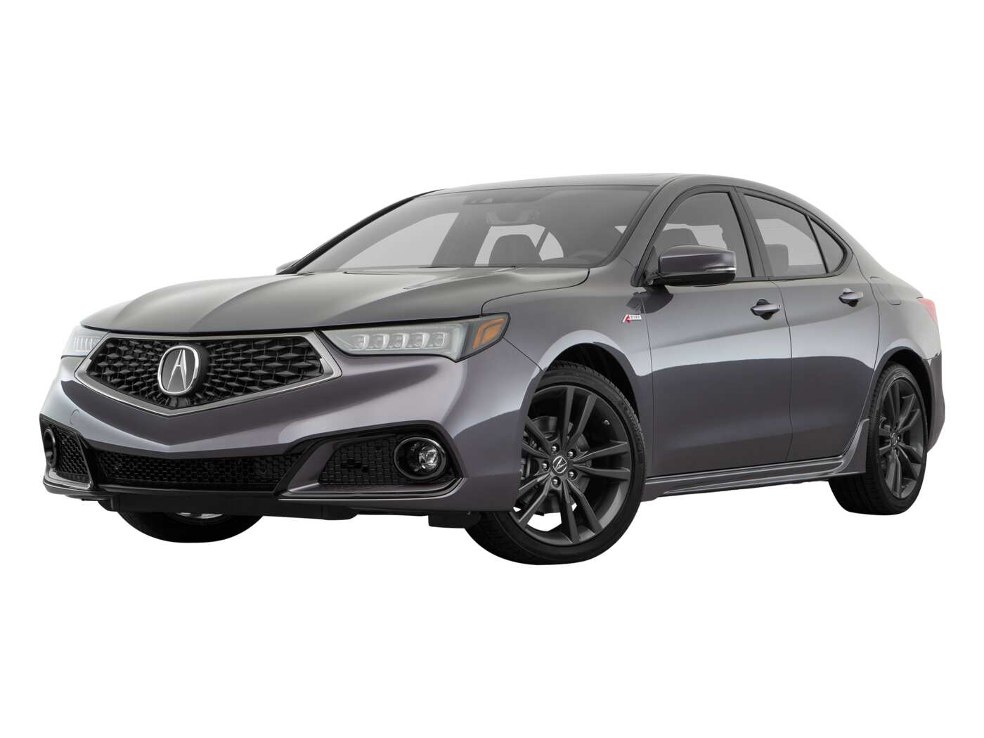 2020 acura tlx 3.5l fwd with a-spec package red leather
