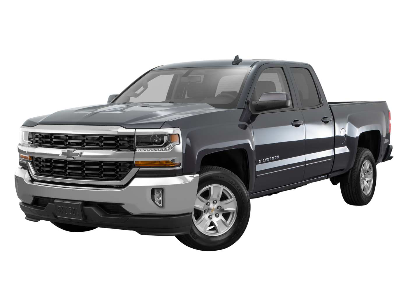 2019 Chevrolet Silverado 1500 LD LT with 1LT Double Cab Standard Box 4WD