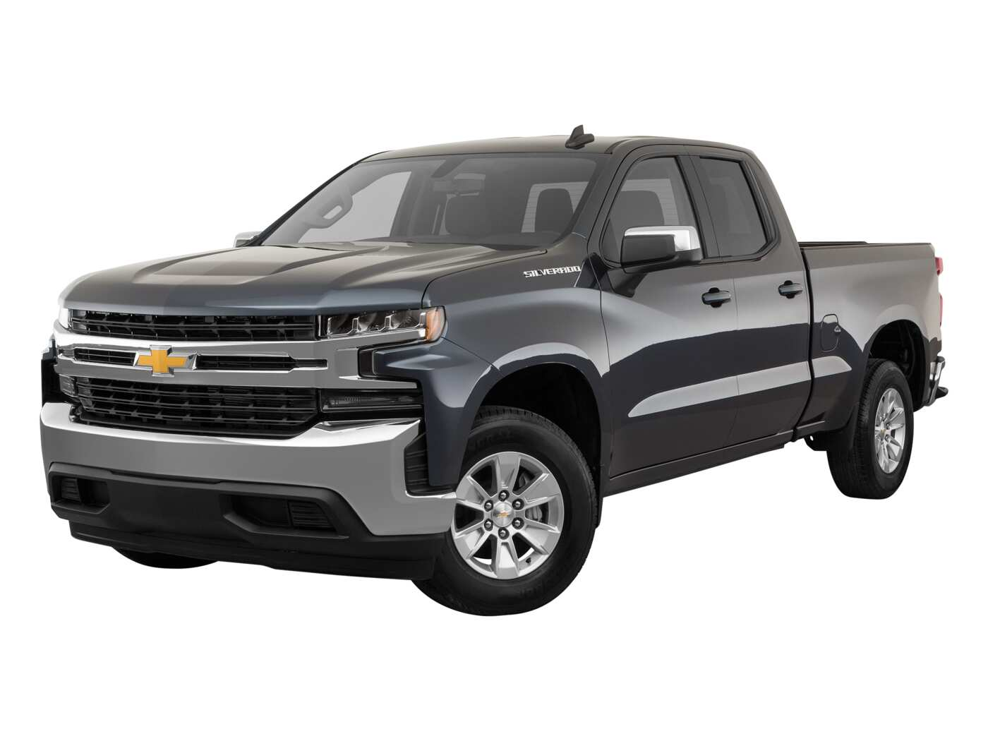 2020 Chevrolet Silverado 1500 Custom Double Cab Standard Box 4WD