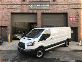 2018 FORD TRANSIT 150 VAN LOW ROOF 60/40 148'' CARGO WHITE/GRAY 8K MILES STK#7558