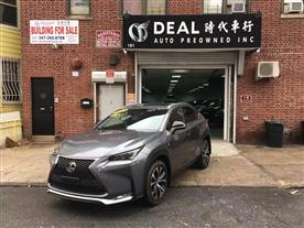2015 LEXUS NX 200T AWD NEBULA GRAY PEARL/BLACK, LEATHER 40K MILES STK#7576