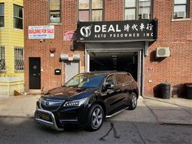2016 ACURA MDX SH-AWD 9-SPD AT BLACK/BLACK 47K MILES STK#7554