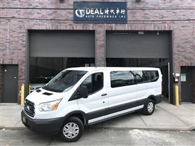 2017 FORD TRANSIT 350 WAGON LOW ROOF XLT 60/40 PASS. 148-IN. WB WHITE/BLACK 12K MILES STK#1214