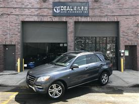 2012 MERCEDES-BENZ M-CLASS ML350 4MATIC STEEL GREY METALLIC/BLACK 91K MILES STK#2222