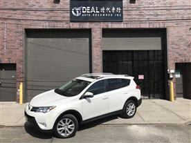 2013 TOYOTA RAV4 LIMITED AWD WHITE/BLACK 121K MILES STK#1224