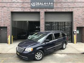 2012 CHRYSLER TOWN & COUNTRY TOURING TRUE BLUE PEARL/BLACK LEATHER 96K MILES STK#2245