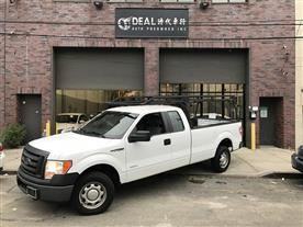 2012 FORD F-150 XLT SUPERCAB 8.0-FT. BED 4WD OXFORD WHITE/STEEL GRAY CLOTH INTERIOR 86K MILES STK#5301