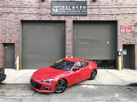 2016 SUBARU BRZ LIMITED 6M PURE RED/BLACK LEATHER & ALCANTARA, LEATHER/SUEDED MICROFIBER 29K MILES STK#10679