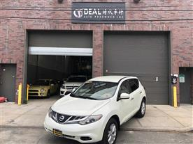 2011 NISSAN MURANO S AWD WHITE/BEIGE CLOTH INTERIOR 104K MILES STK#25799
