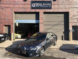 2014 MERCEDES-BENZ E-CLASS E350 4MATIC SEDAN GRAY/BLACK 45K MILES STK#25778