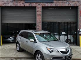 2013 ACURA MDX 6-SPD AT W/TECH PACKAGE GRAY/BLACK 89K MILES STK#10763