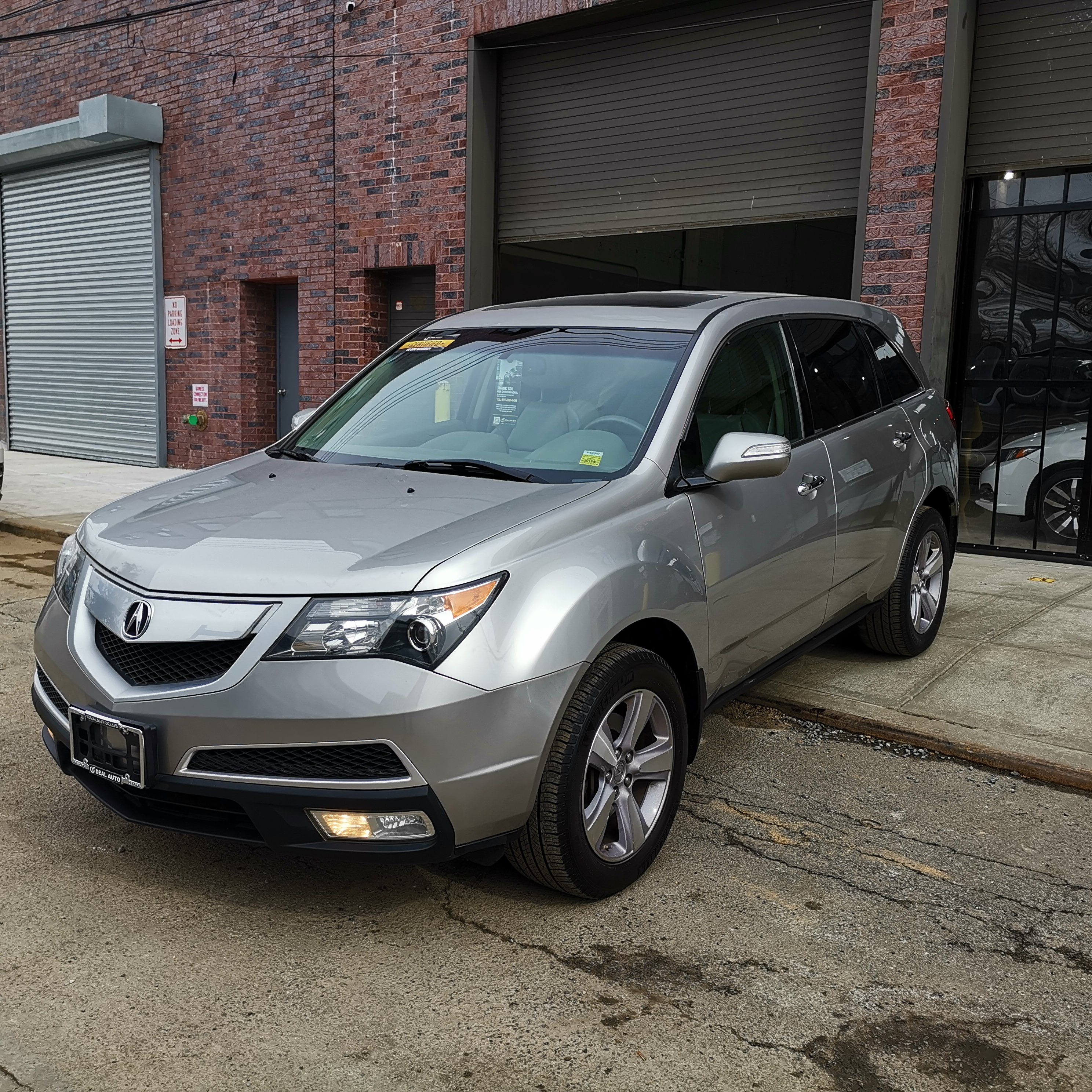2013 ACURA MDX 6-SPD AT W/TECH PACKAGE GRAY/BLACK 89K