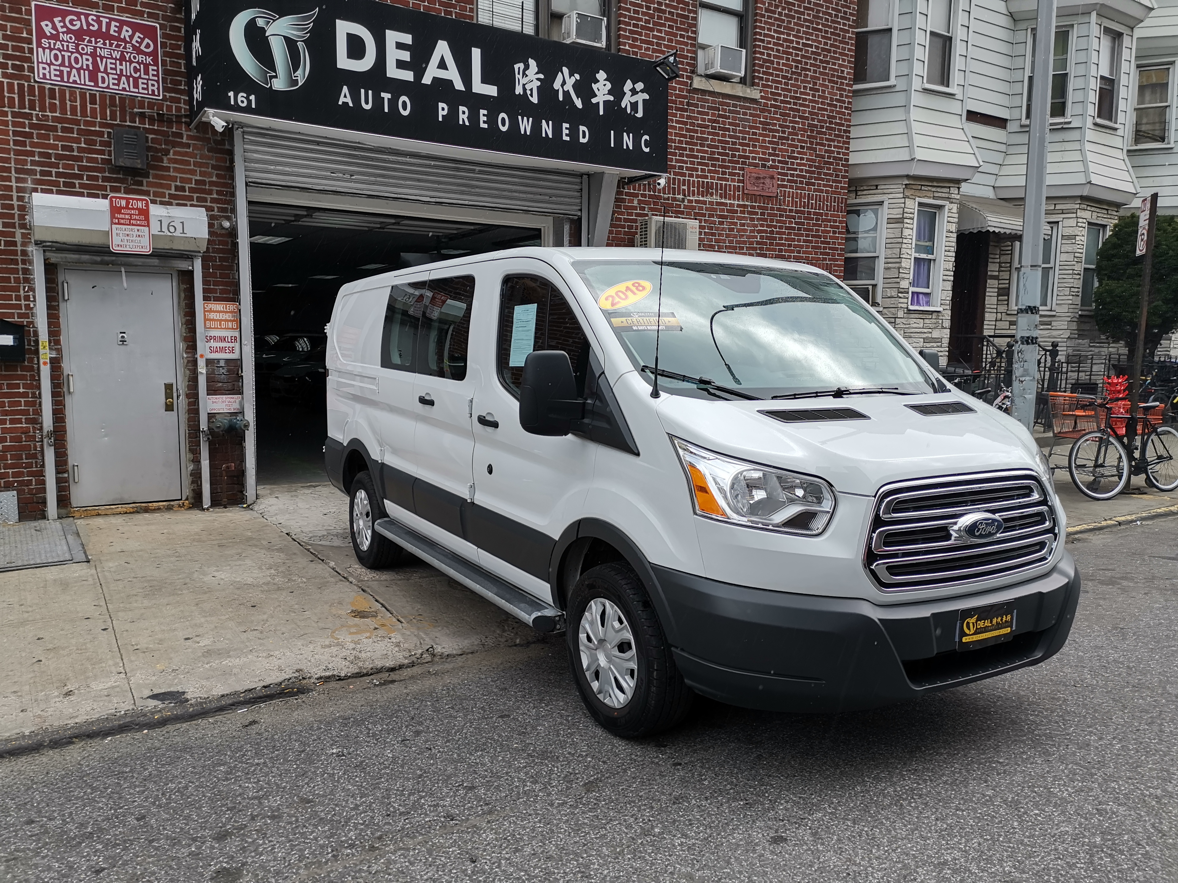 da5fd1977a 2018 FORD TRANSIT 250 VAN LOW ROOF 60 40 PASS.130-IN. WB WHITE GRAY ...