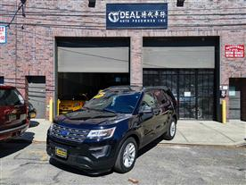 2016 FORD EXPLORER BASE 4WD BLACK/TAN 64K MILES STK#13342
