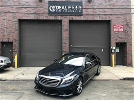 2015 MERCEDES-BENZ S-CLASS S63 AMG 4MATIC BLACK/NUT BROWN/BLACK NAPPA LEATHER, PREMIUM LEATHER 24K MILES STK#18794