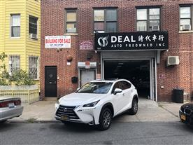 2016 LEXUS NX 200T AWD WHITE/BLACK, LEATHER 9K MILES STK#19969