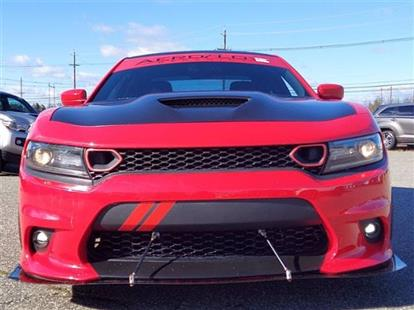 2018 DODGE CHARGER SXT PLUS RED/BLACK, CLOTH 31K MILES STK#28484