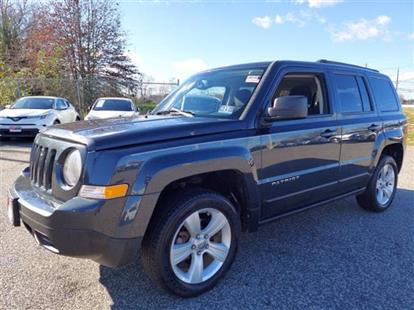 2014 JEEP PATRIOT LATITUDE 4WD GRAY/DARK SLATE GRAY 82K MILES STK#28487