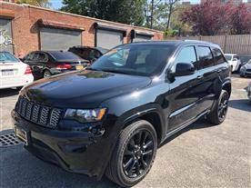 2018 JEEP GRAND CHEROKEE LAREDO 4WD BLACK/BLACK, CLOTH 41K MILES STK#27779