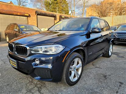 2015 BMW X5 XDRIVE35I M SPORT BLACK/BLACK DAKOTA, LEATHER 67K MILES STK#28938