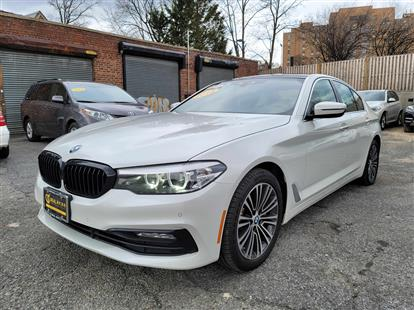 2018 BMW 5-SERIES 530I XDRIVE WHITE/BLACK 56K MILES STK#28954