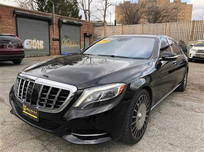 2016 MERCEDES-BENZ S-CLASS S550 4MATIC BLACK/BLACK EXCLUSIVE NAPPA LEATHER, PREMIUM LEATHER 84K MILES STK#28989