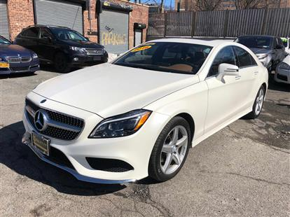 2016 MERCEDES-BENZ CLS-CLASS CLS400 4MATIC WHITE/BROWN 53K MILES STK#29270